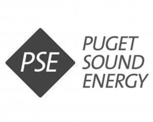 Puget Sound Energy Gray Logo